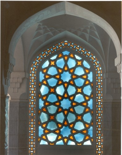Islamic Stained Glass Window